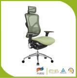 Cadeira moderna do escritório do giro do metal do engranzamento
