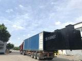 Завод по обработке нечистот пакета для отработанной воды, стационара, селитебного, индустрии