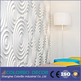 3D Wooden Waves Boards Painel decorativo para cinema