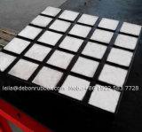 Fodera di gomma di ceramica di usura dell'alta allumina per lo scivolo di trasportatore