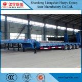 2/3/4 Semi Aanhangwagen van het Bed van de As Op zwaar werk berekende Lage voor Vervoer van het Graafwerktuig