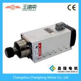Asse di rotazione quadrato di raffreddamento ad aria di Changsheng 6kw Er32 18000rpm 600Hz con la flangia
