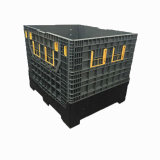 1200X1000X1000mm HDPE hergestellter faltender Ladeplatten-Schüttgutcontainer