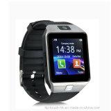 Bluetoothおよびカメラ2m (DZ09)が付いている身につけられるスマートな腕時計の電話