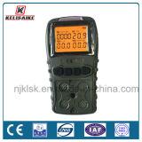 Type de pompage O2 portatif H2s Lel/CH4 4 de Co dans 1 analyseur de gaz multiple