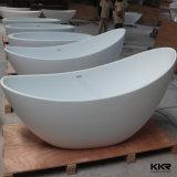 Antique изделий Kkr ушаты ванны санитарного твердые поверхностные белые Freestanding (TUB171128)