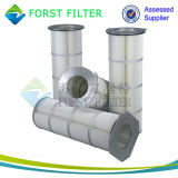 Cartucho de filtro do colector de poeira do ciclone Industrial Forst