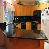 Природные Premium чистого черного гранита мойки для кухни украшения