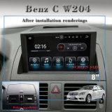 Navegação GPS do Android 5.1 para C W204 Caixa de TV de carro, OBD, conexão WiFi DAB Navegação GPS