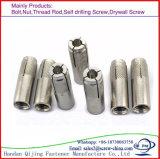 Calo placcato zinco di M16 HDG nel bullone d'ancoraggio