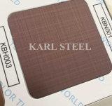 201 feuille du délié Kbh003 de couleur d'acier inoxydable pour des matériaux de décoration