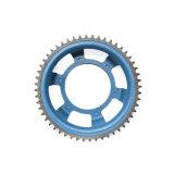 Engranaje plástico de alto impacto a prueba de niños para la polea acanalada de la rueda del juguete/de la escalera móvil/el engranaje doble de la ojeada