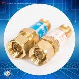 장치를 부드럽게 하는 압력 흡진기 절단 토치를 위한 플래시백 피뢰기 산소 아세틸렌 역행 방지판