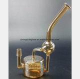 De transparante Gele Waterpijp van het Glas van de Terugwinning van de Filter van het Kanon