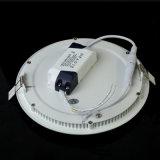 Luz de painel do diodo emissor de luz da forma redonda da alta qualidade (WD-STP01-R-15W)