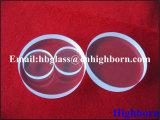 Heißer Verkaufs-transparentes rundes Quarz-Glasfenster