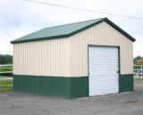 熱い販売ライト鋼鉄プレハブの家(QDGM-0301)