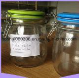 Copo misturador com Plasticlid Mason/Fermentar & Armazenar Kombucha chá ou Quefir/usar para a indústria conserveira, armazenar, Decapagem e preservando a máquina de lavar loiça, a vedação de plástico hermético,