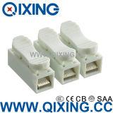 Разъем фонаря освещения Qixing два этапа двойной разъем провода 400A 4кв в24A
