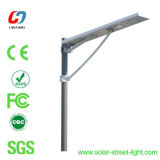 straßen-Garten-Licht der Aluminiumlegierung-24W materielles integriertes Solar
