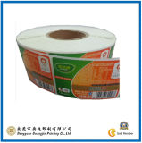 Autoadesivi di carta poco costosi del contrassegno del fornitore (GJ-Label007)