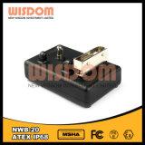 Schwarze wirkungsvolle LED-Scheinwerfer-Aufladeeinheit