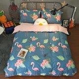 Microfiberポリエステル寝具一定のホーム織物の価格4部分のシートの