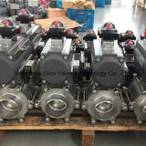 Pneumatic Actuator 3 Pieces Ball Valve with Socket-Weld End (Q661F-16P/R/C)