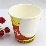 7oz, 9oz Disposable Single Wall Paper Cup mit Handle