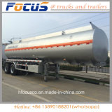 Adr/ CERTIFICADO DOT 3 Eixos Semitrailer caminhão-tanque de combustível de alumínio