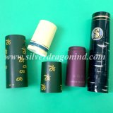 Les capsules rétractables en PVC personnalisé pour le vin d'étanchéité de bouchon de vase
