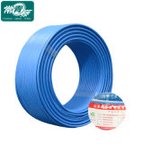 Os cabos isolados com isolamento de policloreto de vinilo, de tensão nominal igual ou inferior a 450/750 V