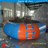 Tremplin bon marché de l'eau de tremplin gonflable de rebondissement d'air d'usine mini