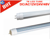 2016 el tubo más nuevo de DC/AC 12V/24V/48V LED T8