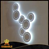 Moderner Entwurfs-Kohlenstoffstahl-Acryldecken-Lampen (KA2220C7)