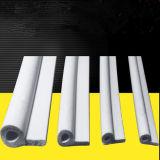 Weißer P-Form Schwamm-Schaumgummi-Silikon-Gummistreifen für Schrank, Ofen