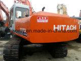 Gebruikte Hitachi ex200-3 Gebruikte Hydraulische Backhoe van het Kruippakje graafwerktuig-0.5~1.0cbm/23ton intern-verbranding-Drijft 110kw-diesel-motor