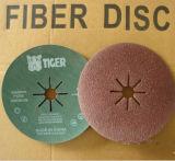 Disco de lijado de fibra de óxido de aluminio para metal