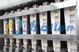 2 Tonnen/Tag CER anerkannte Würfel-Eis-Maschine für Frankreich