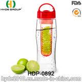 750ml BPA освобождают бутылку воды Infuser плодоовощ Tritan, пластичную бутылку вливания плодоовощ (HDP-0892)