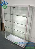 Aluminium-freier stehender Glasschaukasten-Glasverkaufsmöbel mit LED-Lichtern