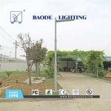 luz de rua solar da bateria de lítio do diodo emissor de luz 75W de 9m