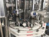 La bouteille et le déclenchement de la pompe de plafonnement de la machine rotative