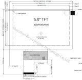 5'' del módulo de pantalla LCD TFT Innolux para equipos de Control Industrial
