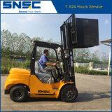 中国の品質のセリウムの証明書が付いている新しいSnscのディーゼルフォークリフト3tons