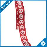 Logotipo personalizado Polyester impreso 6 pulgada de cinta de satén para decoración