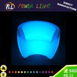 屋外の家具LEDの白熱プラスチック棒ソファー