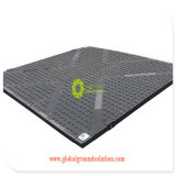 Bewegliches UHMWPE temporäres wasserdichtes Straßen-Matte HDPE Plastikbodendeckblatt