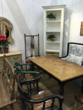 Corrispondenza Well del cinese e di Western Dining Table Antique Furniture