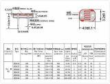 De hoge Fotogevoelige Sensor Componentn van de Gevoeligheid met Diameter 4mm voor Schakelaar